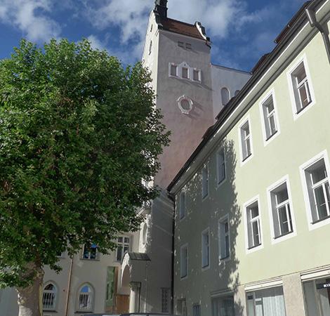 Praxis Gerd Bawiedemann, Regensburg, Außenansicht
